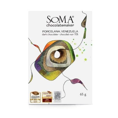 Soma - Dark Chocolate - Porcelana 70%