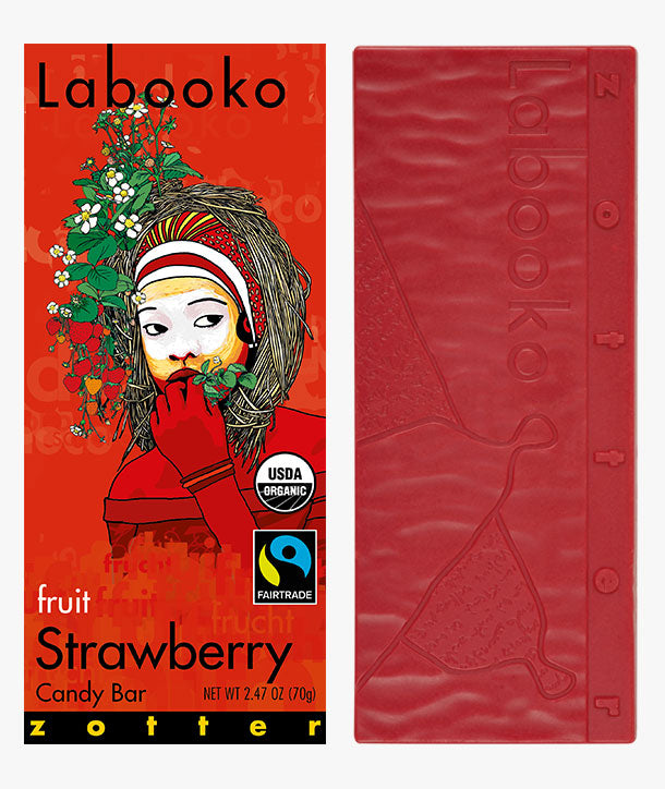 White Chocolate - Labooko Strawberry | Chocolate Delivery