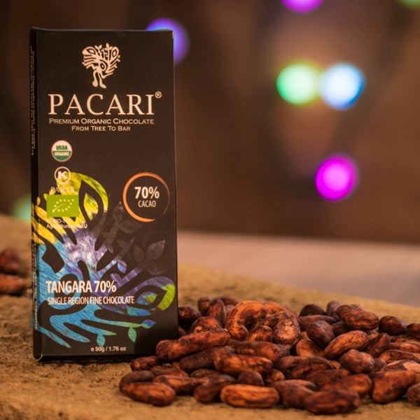 Pacari Tangara 70% - Limited Edition - Best Dark Chocolate 2015 - HelloChocolate®- Pacari - 1
