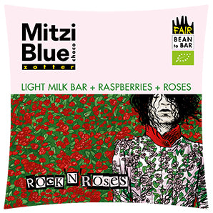 Zotter - Rock'n Roses - Mintz Blue Chocolate