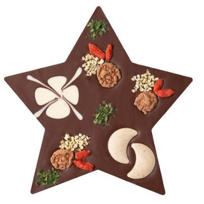 Vegan Christmas Chocolate Gift - Zotter Star Hazelnut  | Christmas Chocolate Delivery Singapore