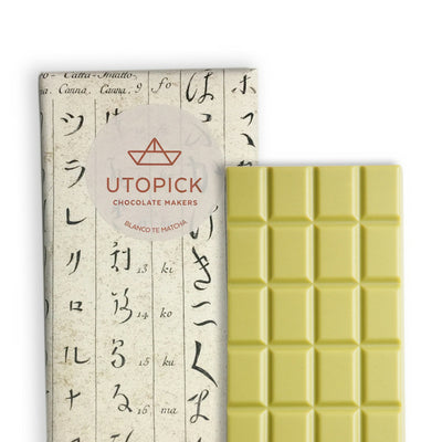 white chocolate with matcha | chocolate shop singapore