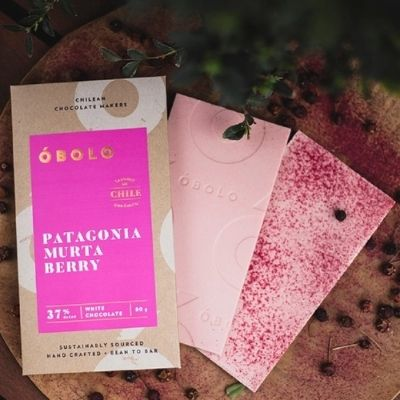 White Chocolate - Obolo Murta Berry | Halal Chocolate