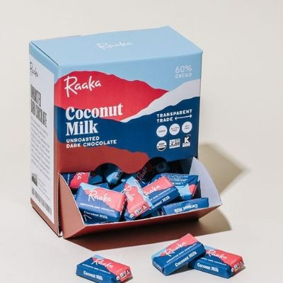 Raw Chocolate Minis - Raaka Coconut Milk | Best Chocolate Online