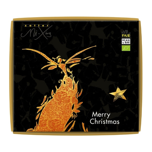 Vegan Christmas Chocolate Gift - Zotter Star Hazelnut | Hello Chocolate Shop