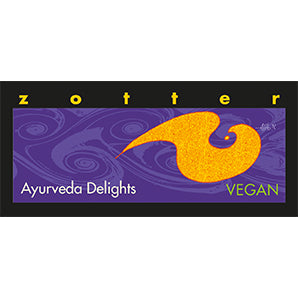 vegan chocolate | zotter ayurveda delight