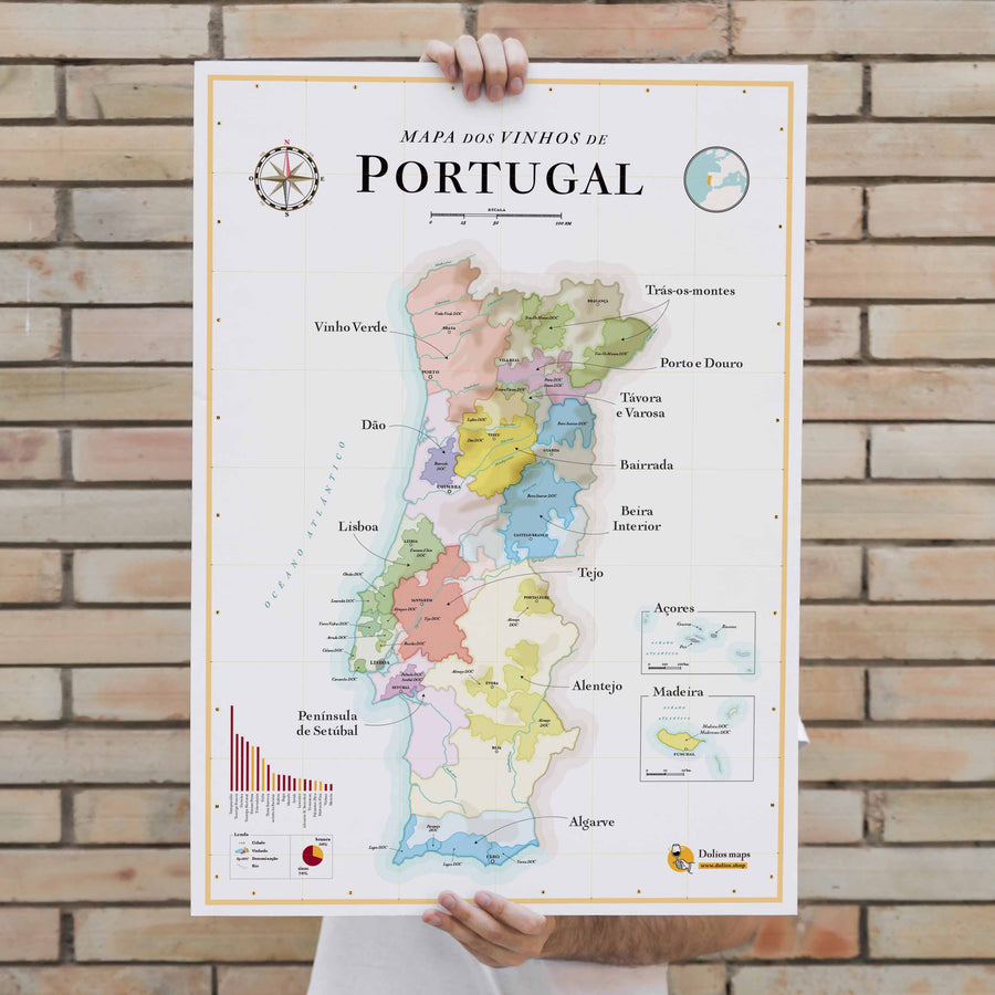 Wine Map of Portugal