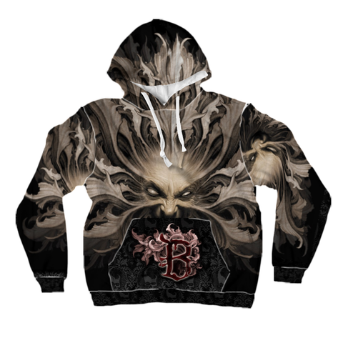 All-Over Print Pullover Hoodies: Mother