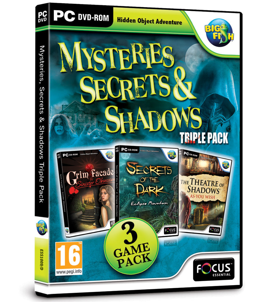 Mysteries, Secrets & Shadows Triple Pack