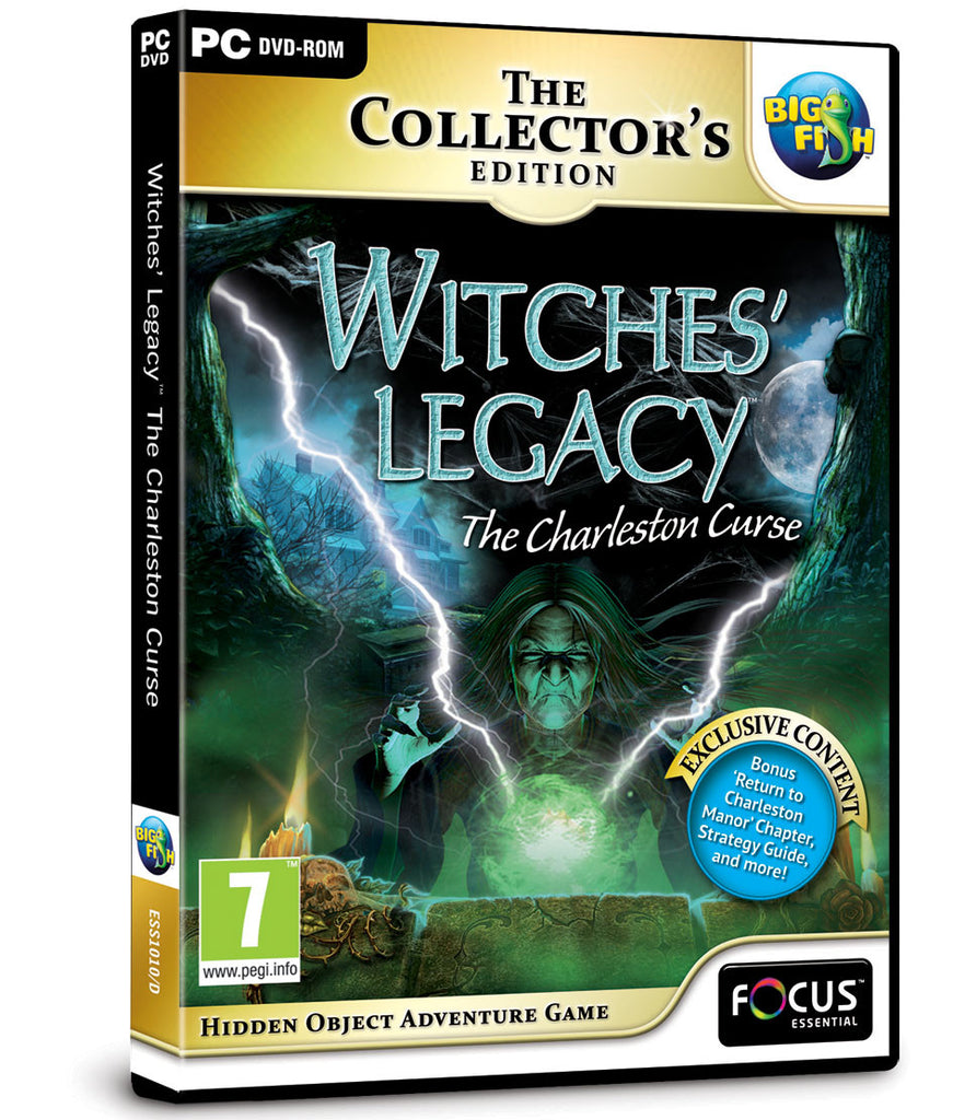 Witches' Legacy™: The Charleston Curse Collector's Edition