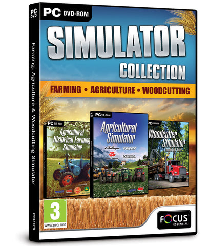 Farming, Agriculture & Woodcutting Simulator Triple Pack
