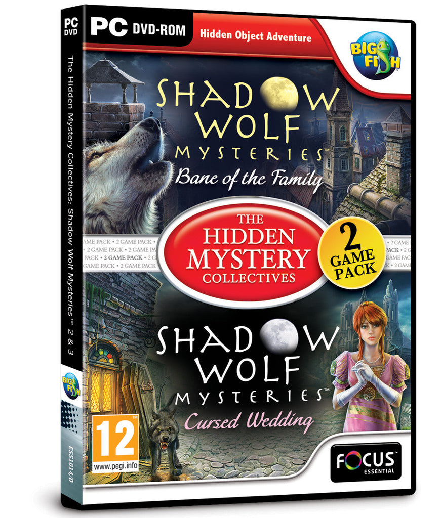 Shadow Wolf Mysteries 2 & 3