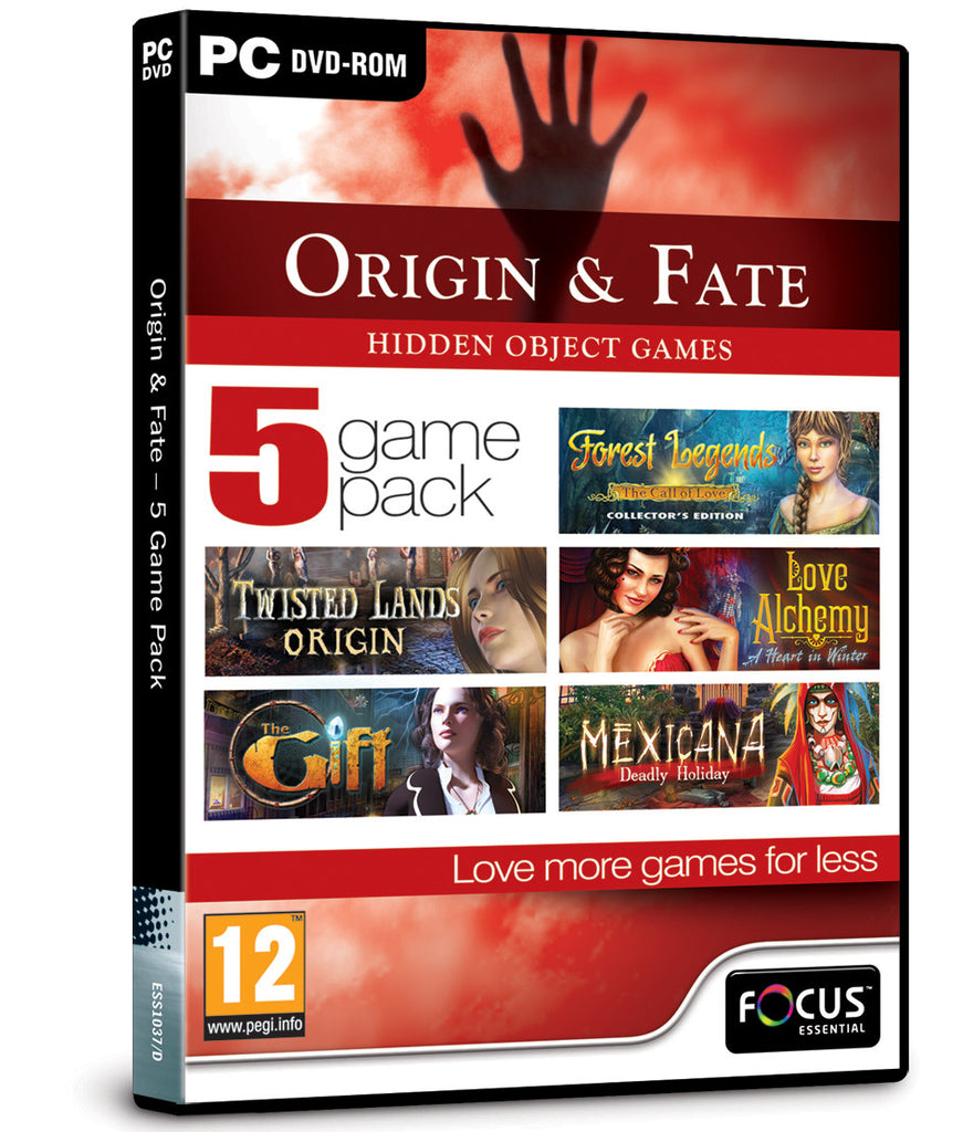 Origin & Fate - 5 Game Pack