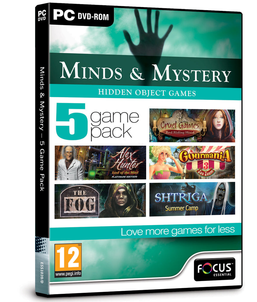 Minds & Mystery - 5 Game Pack
