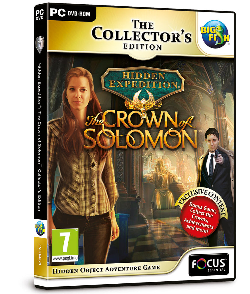 Hidden Expedition (7): The Crown of Solomon Collector's Ed