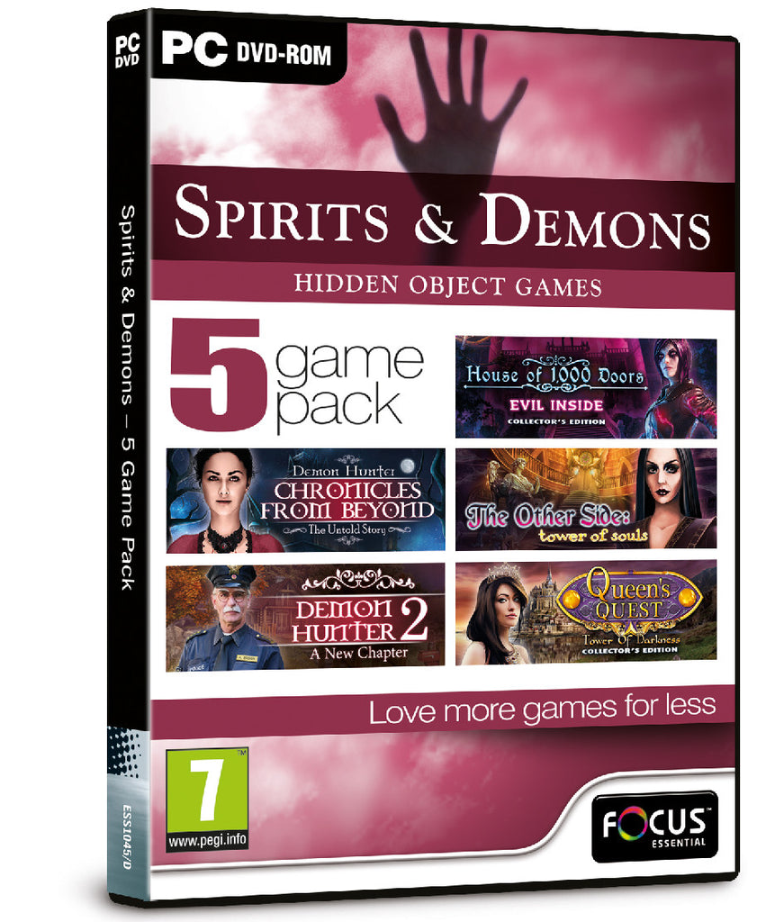Spirits & Demons - 5 Game Pack