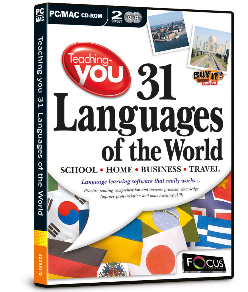 Teaching-you 31 Languages of the World - 2 Disc Set