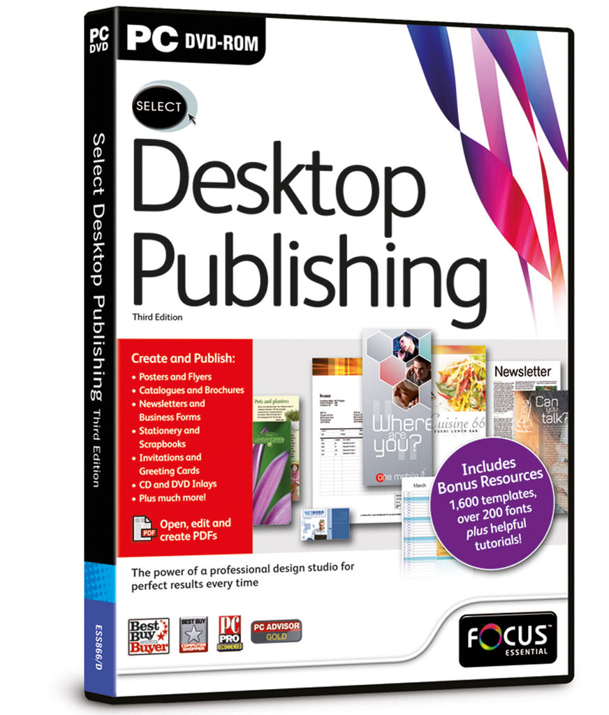 Select Desktop Publishing 3rd Edition