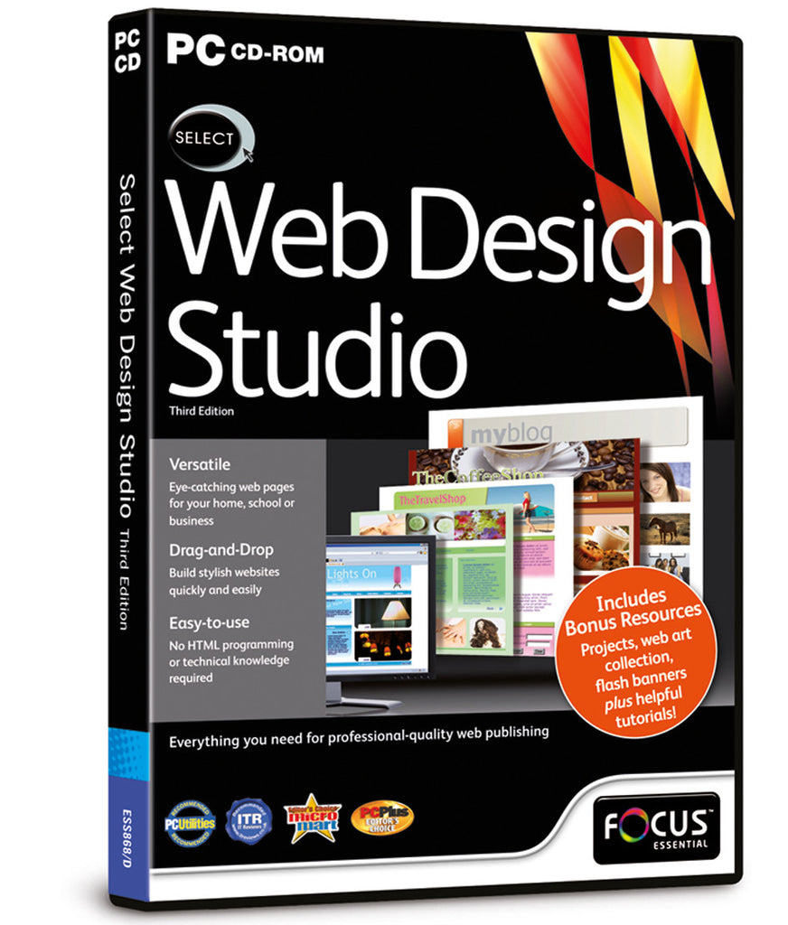 select web design studio 3rd edition – focus multimedia limited