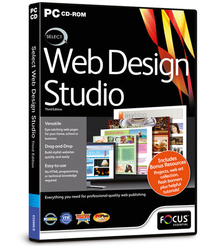 Select Web Design Studio 3rd Edition