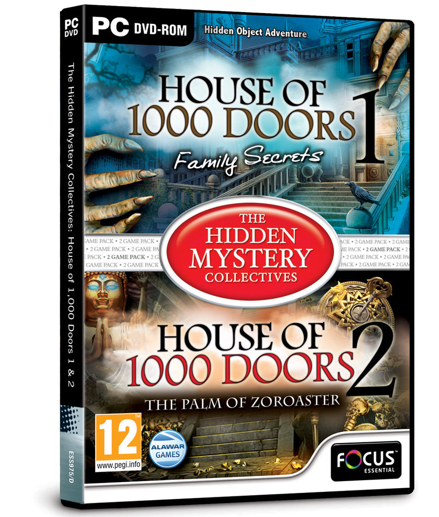 The House of 1,000 Doors 1 & 2 (The Hidden Mystery Collectives)