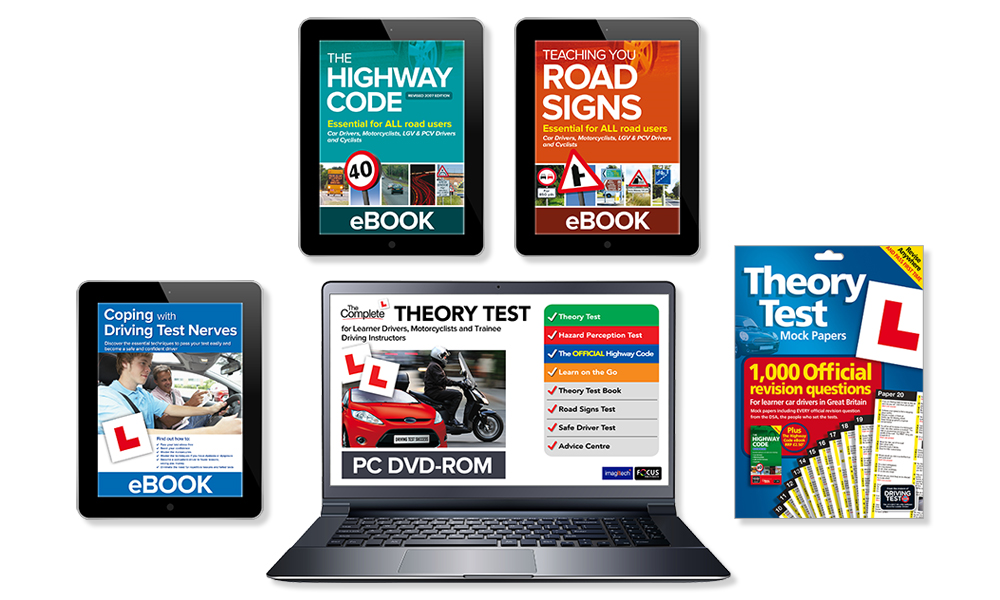 The Learner Driver Theory Test Bumper Pack