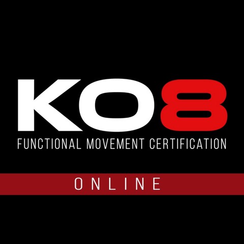 BACK TO BLACK SALE - KO8 Functional Movement Certification: Online