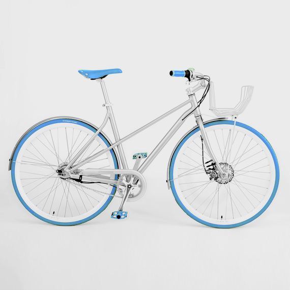 Vé Comfort Bicycle Blue