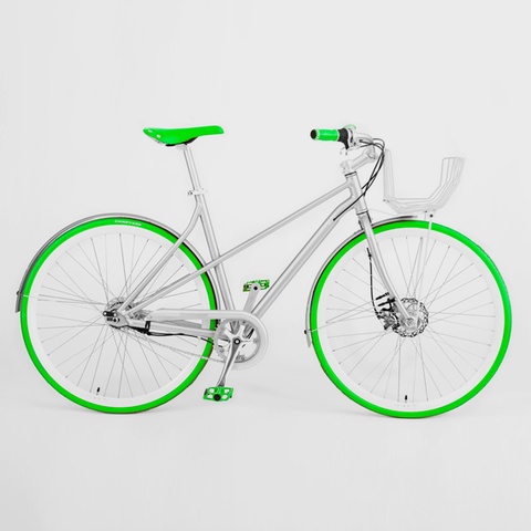 Vé Comfort Bicycle Green