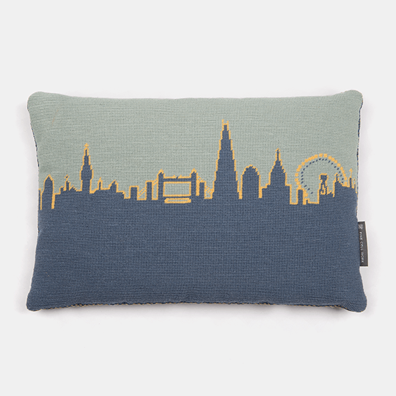 London Skyline Blue