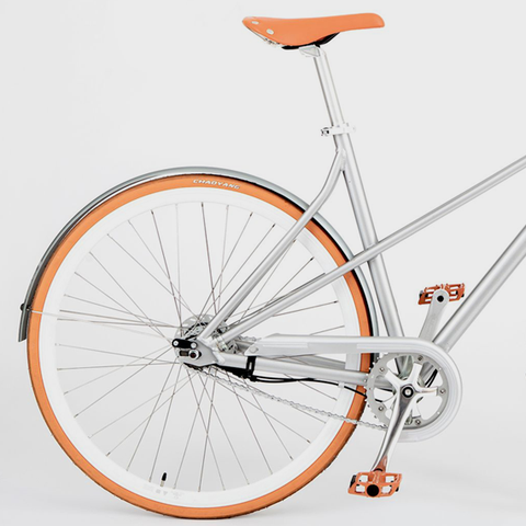 Vé Comfort Bicycle Orange