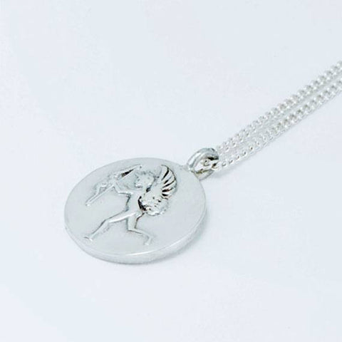 Silver Eros Necklace