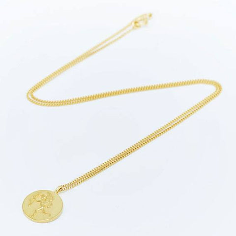 Gold Eros Necklace