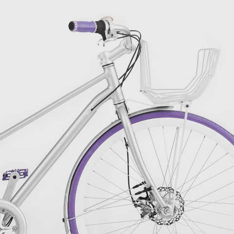 Vé Comfort Bicycle Purple