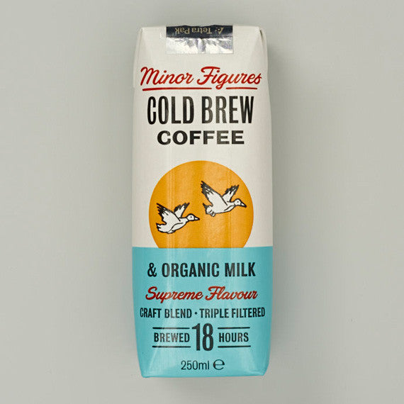 Cold Brew with Organic Milk