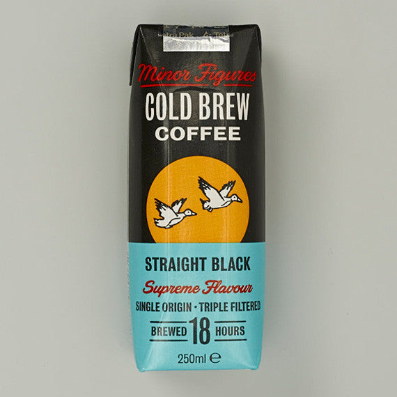Straight Black Cold Brew