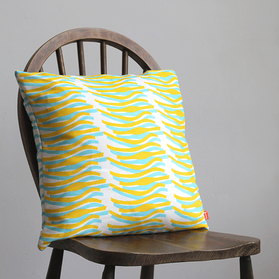 Mustard Lustre Cushion