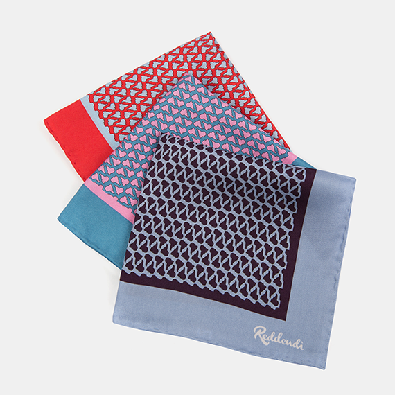Latin America Pocket Square