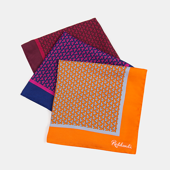 Middle East Pocket Square