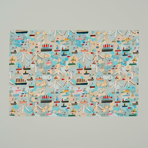 Sail Away Tea Towel
