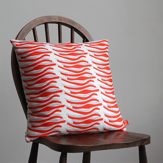 Tomato Lustre Cushion