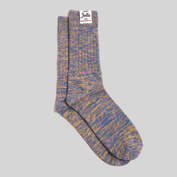 Purple Twister Socks