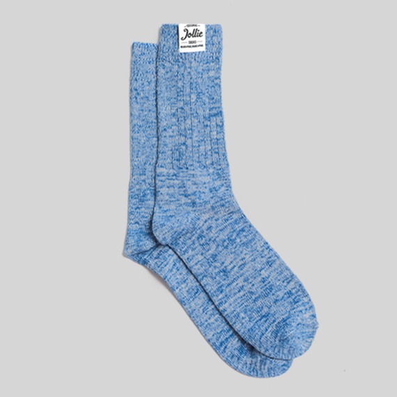 Blue Twister Socks