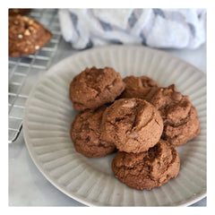 gluten free hot chocolate chip cookies