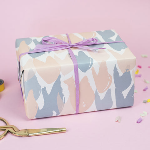 Brush pattern Wrapping Paper