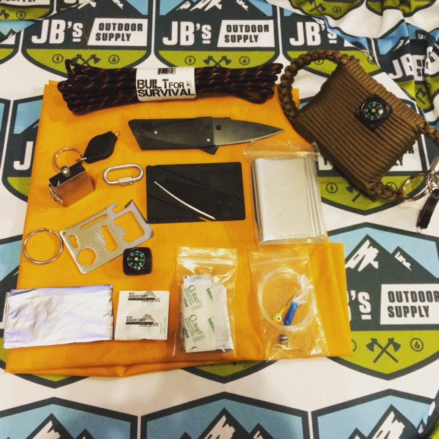 jbs outdoor supply paracord survival kit