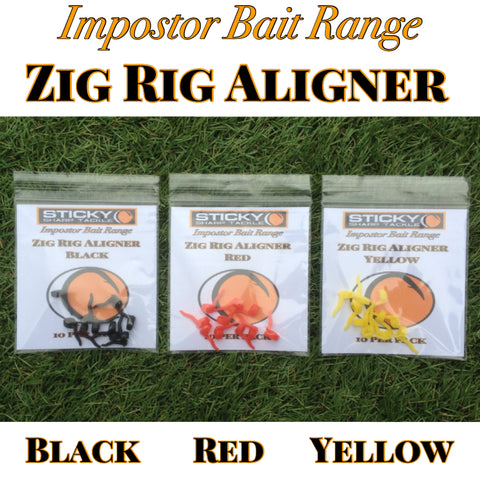 Zig Rig Aligners - Black, Red & Yellow