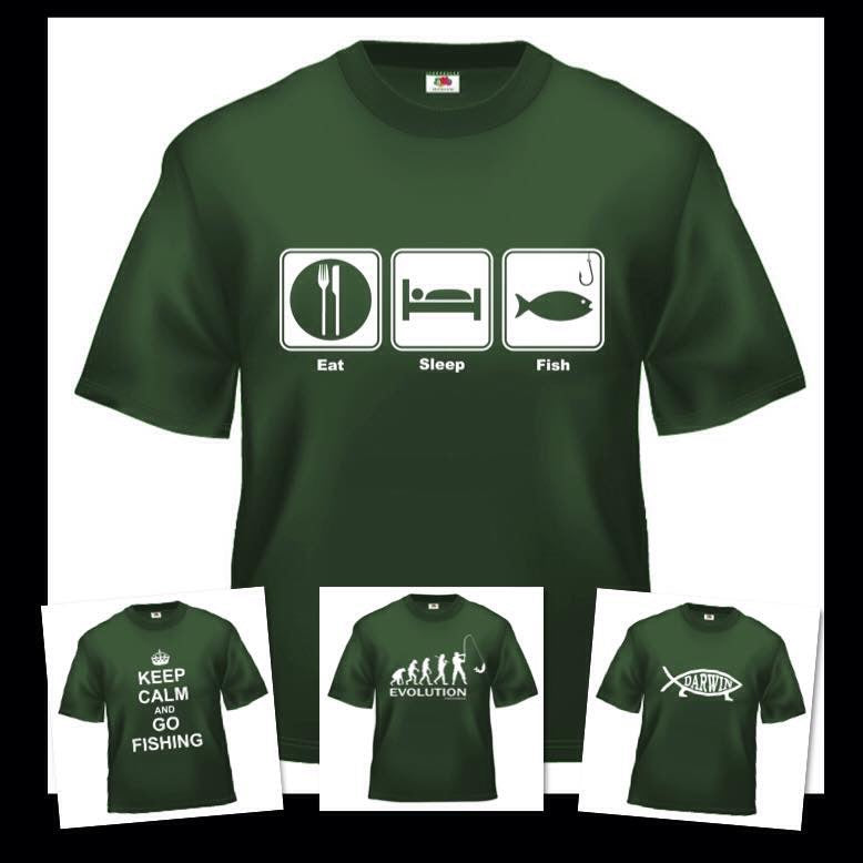 Fishing Print T-shirt SPECIAL OFFER