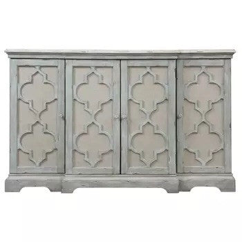 Charmant Carved Console