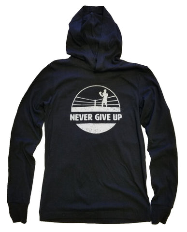 Never Give Up // Hooded Long Sleeve